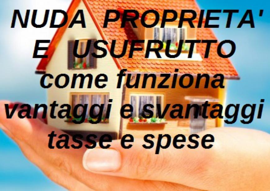 NUDA PROPRIETAu0027 E USUFRUTTO